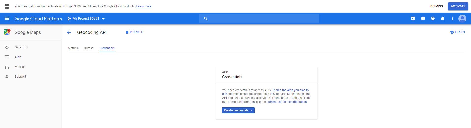 Google API Keys ## | FTAnalyzer